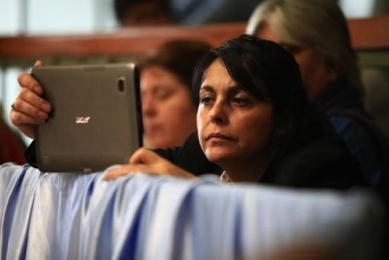 Norma Cabas. (Archivo)