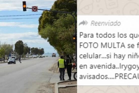 Desmienten mensaje viral sobre fotomultas en avenidas