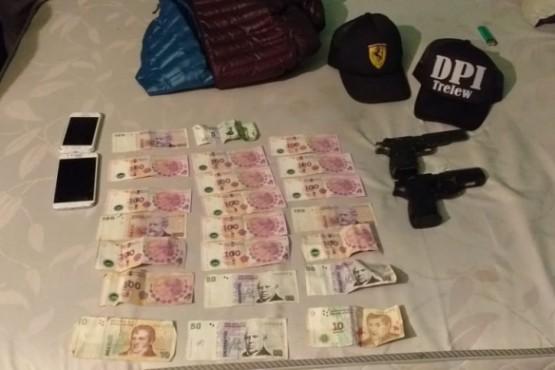 Policía realizó allanamientos y secuestró armas de fuego