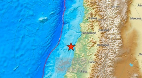 Un sismo de 6,6 en la escala de Richter sacudió Chile