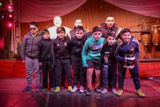 Entrega de premios del torneo apertura de la liga municipal