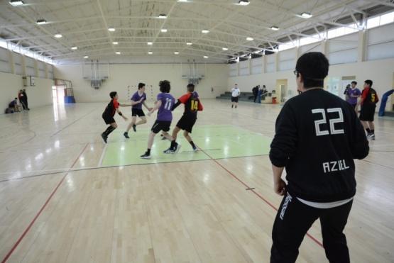 El gimnasio Indio Nicolai sede de la instancia provincial de handball