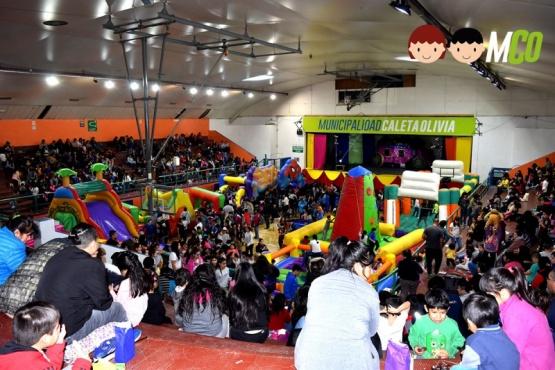 Se celebró el Día del Niño en Caleta