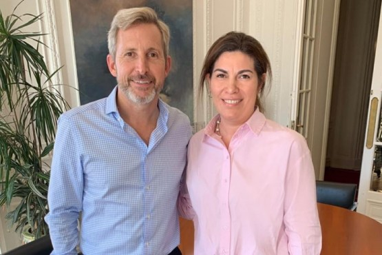 Frigerio respaldó la candidatura de Ana Clara Romero