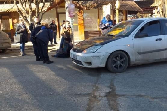 Mujer atropellada en la Avenida Kirchner