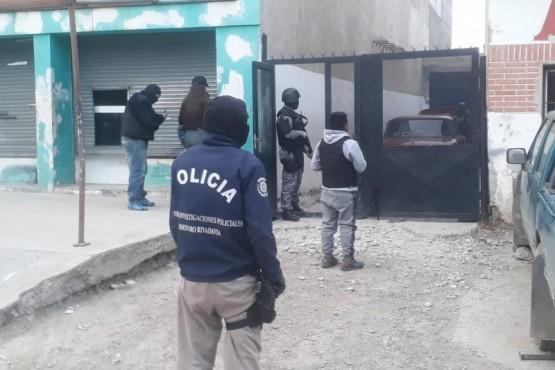 Se realizó un extenso allanamiento en Comodoro Rivadavia
