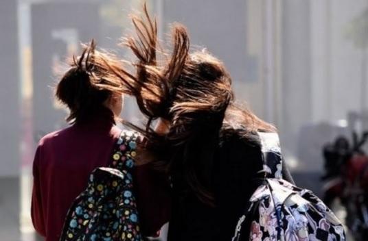 Hay alerta por fuertes vientos en el sur de Santa Cruz