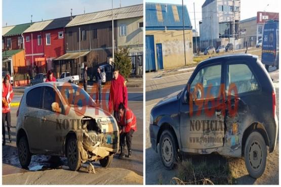 Joven herido tras accidente en Belgrano y Gobernador Paz