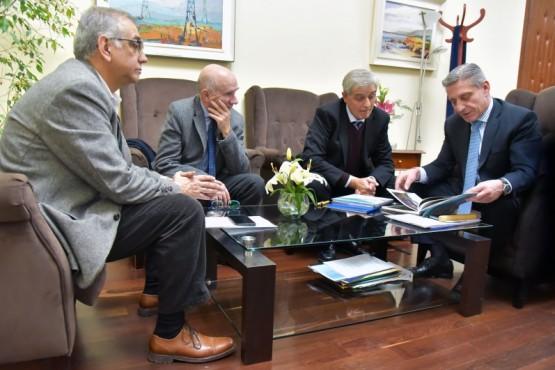 Arcioni recibió al Presidente del ORSEP