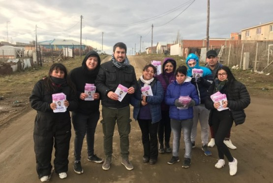 Leo Roquel cerró su campaña en los barrios