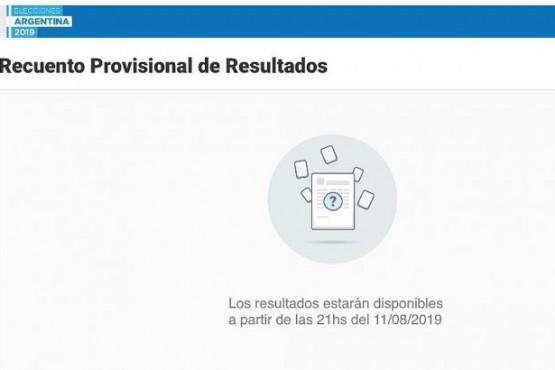 Siguen las demoras en la difusión de los datos oficiales para conocer el resultado de las PASO
