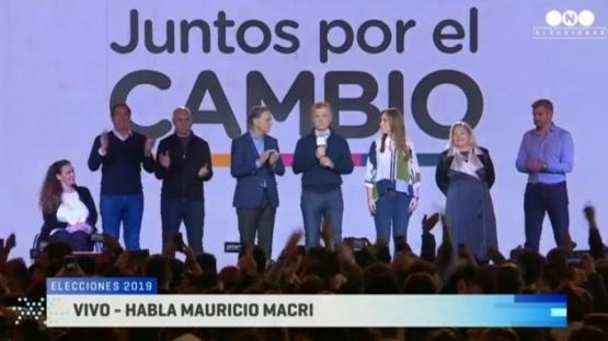 """Macri: """"Hemos hecho una mala elección"""""""