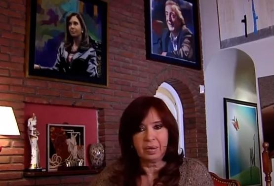 """Cristina pidió """"una sociedad mejor y más tranquila"""""""