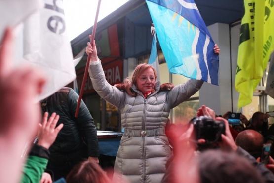 Alicia Kirchner fue reelecta y gobernará cuatros años más