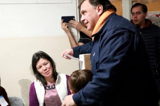Belloni y Vidal, dirigentes jóvenes quese posicionaron de cara al futuro del PJ