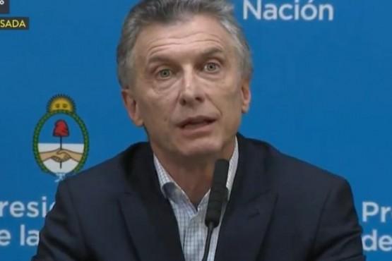 Macri culpó al kirchnerismo por el desplome de los mercados:
