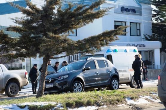 Una mujer fue asistida por médicos al protagonizar una colisión