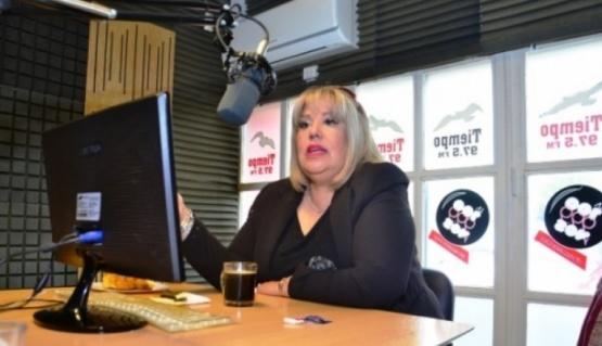 Cristina Aranda pidió tranquilidad en la turbulencia económica