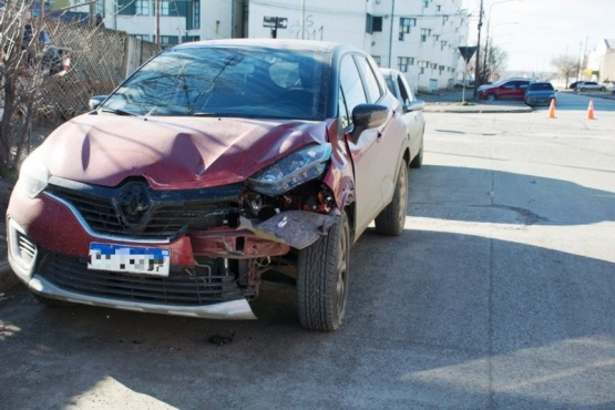 Importantes daños materiales deja una colisión