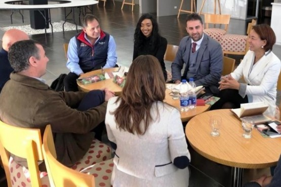 Empresarios chinos se reunieron con productores en Madryn