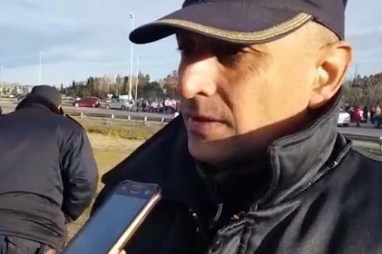 """""""El personal policial va a permanecer y proteger a los automovilistas"""""""
