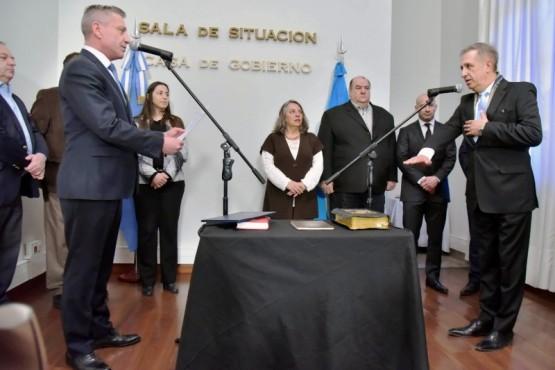 Antonena juró como Ministro de Economía e instó al dialogo