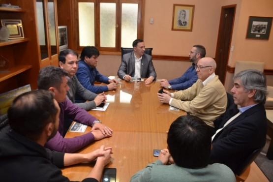 Maderna se reunió con el nuevo presidente de la Cooperativa Eléctrica