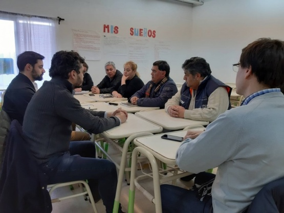 La reunión se llevó a cabo en el Concejo Deliberante.