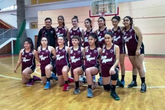 Las U-15 de San Miguel debutan en el Argentino de Clubes