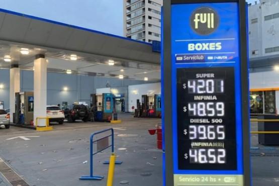 Nación publicó el decreto que congela por 90 días el precio de los combustibles