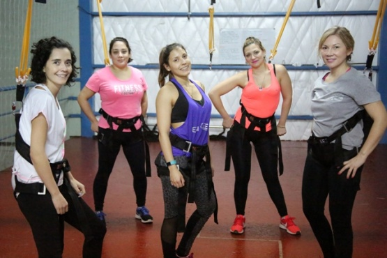 Be Bungee: el entrenamiento que más eligen las mujeres