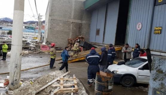 Empleado municipal herido tras explosión en la ciudad de Ushuaia