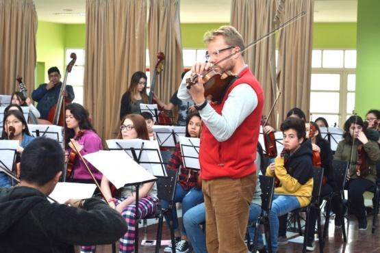 Primer Concierto Binacional de Cuerdas