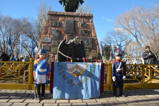 Se realizó el 169° Aniversario del Paso de la Inmortalidad de José de San Martín
