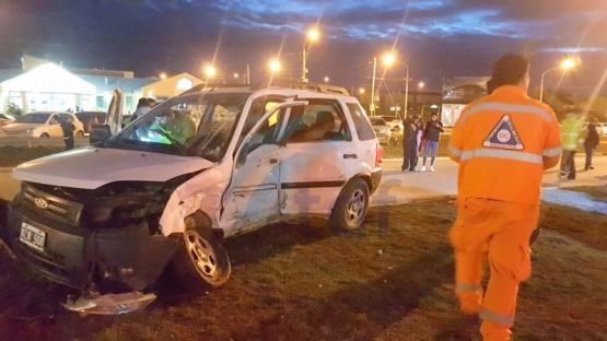 Falleció la conductora de la Eco Sport embestida anoche