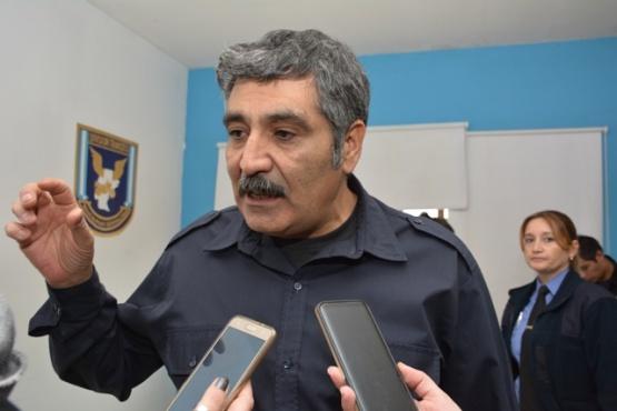Jefe de Policía, Comisario General (R) José Luis Cortés. (Foto: C.R.)