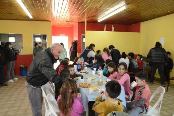 Festejos por el Día del Niño en el Cenin 4