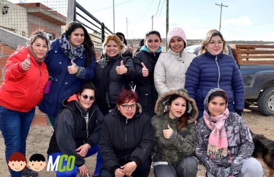El 150 Viviendas festejó el día del niño