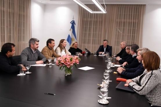 El presidente Macri encabezó una reunión de trabajo