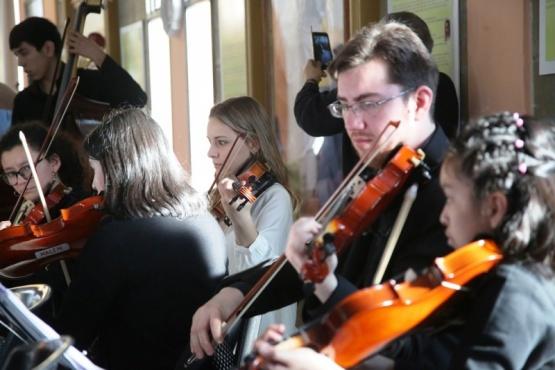 Orquestas de toda la provincia se reunieron en Río Gallegos