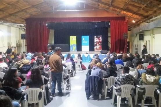 Realizaron la final provincial de los Juegos Culturales Evita