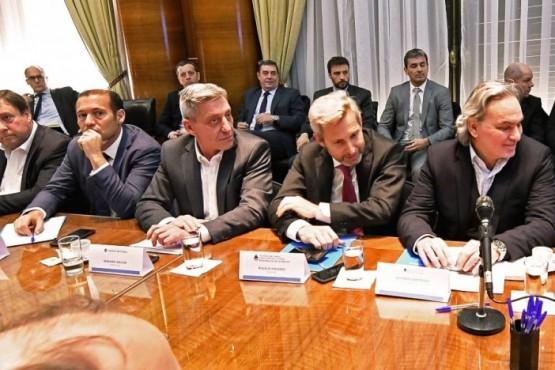 Arcioni en la reunión por el congelamiento de los precios del combustible