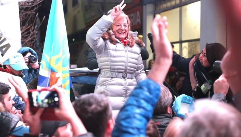 Las elecciones consagraron a Alicia Kirchner en otro mandato. (C.G.).