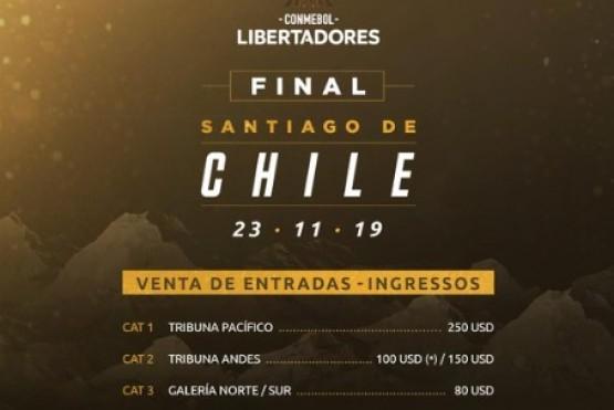 La Conmebol anuncia fecha para la venta de entradas para la final