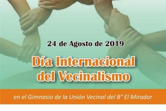 Se realizarán actividades por el Día internacional del Vecinalismo