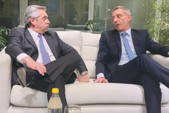 Arcioni se reunió con Alberto Fernández