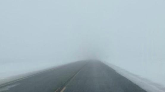 Piden precaución por niebla en Cerrito- Bajada de Miguez