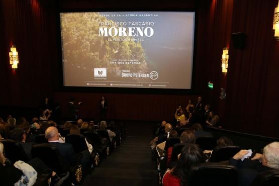 Fundación Banco Santa Cruz presentó documental sobre la vida del Perito Moreno