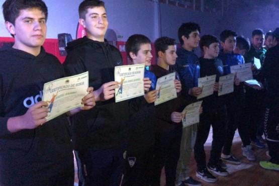 Quedó formalmente inaugurado del Torneo Regional de Cadetes de Handball