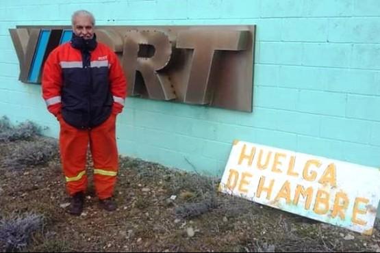 González sigue en huelga de hambre. (Ilustrativa).